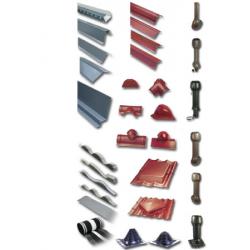 Stogo priedai (hermetikai, ventiliacinai kamineliai, mineraline vata rob.)