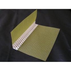 PVC kampinis profilis su tinkleliu 100x150 2500mm
