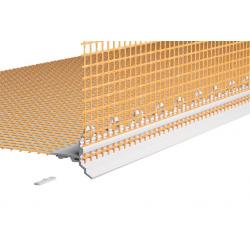 PVC profilis su tinkleliu Caparol, 2 m, 6680/30