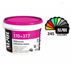 Struktūrinis dekoratyvinis tinkas ALPOL AT 372 2,0 mm Silikatinis silikoninis (Samanėlė) 25 Kg